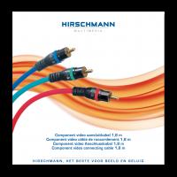 Component Video kabel Hirschmann High-End PPC 1.8meter AKTIE!